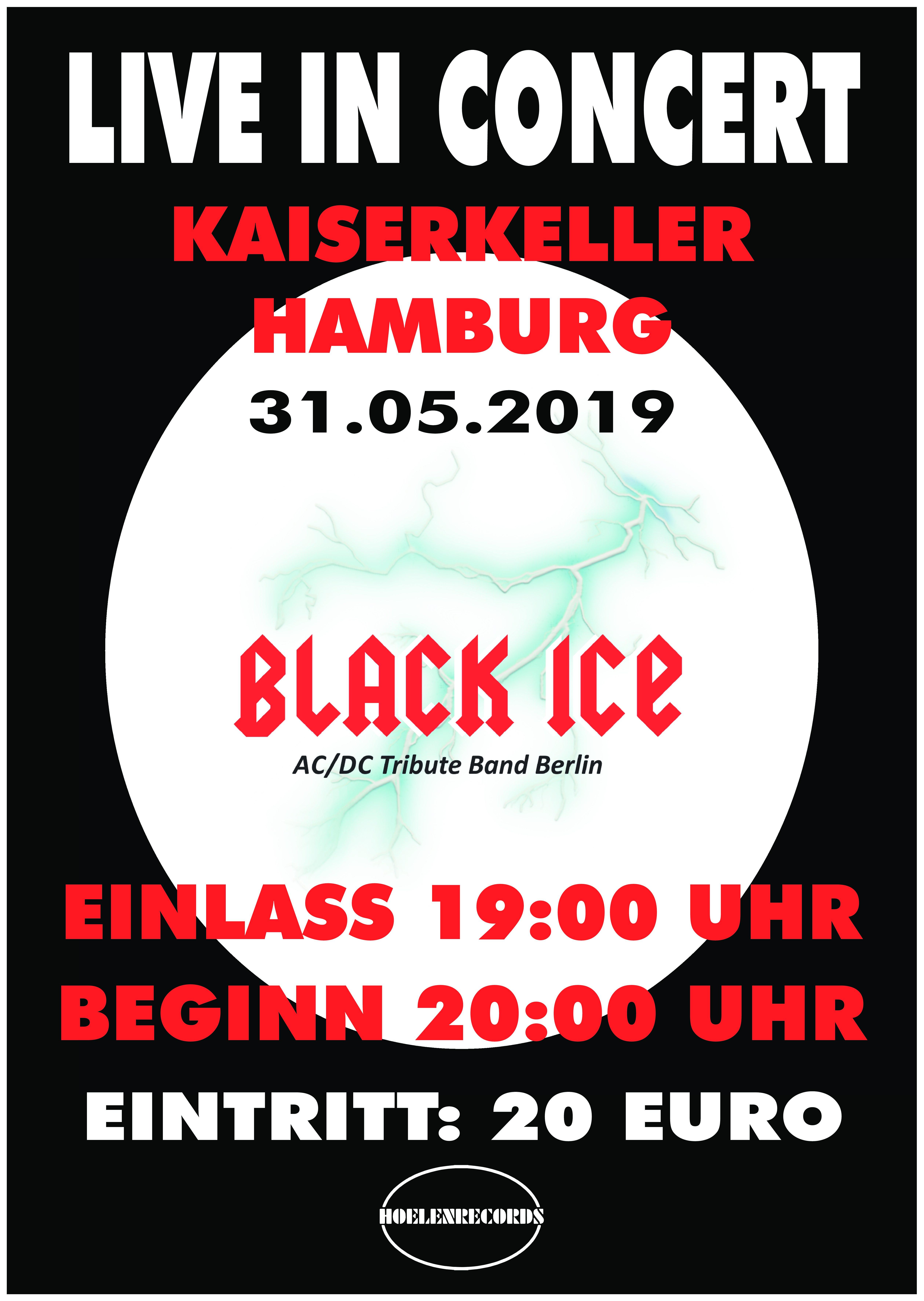 Hamburg Kaiserkeller Plakat