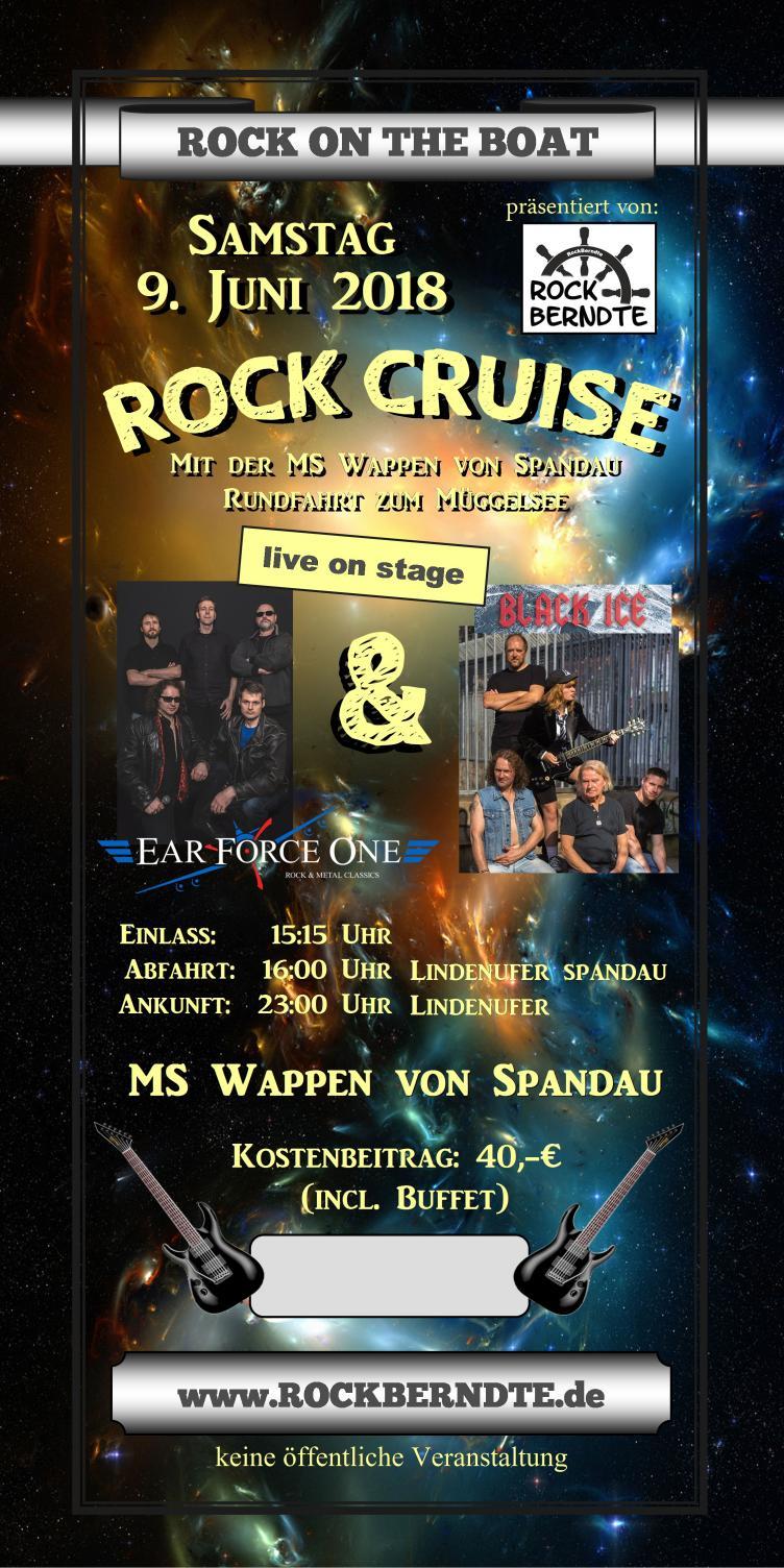 Rock Cruise Spandau Plakat