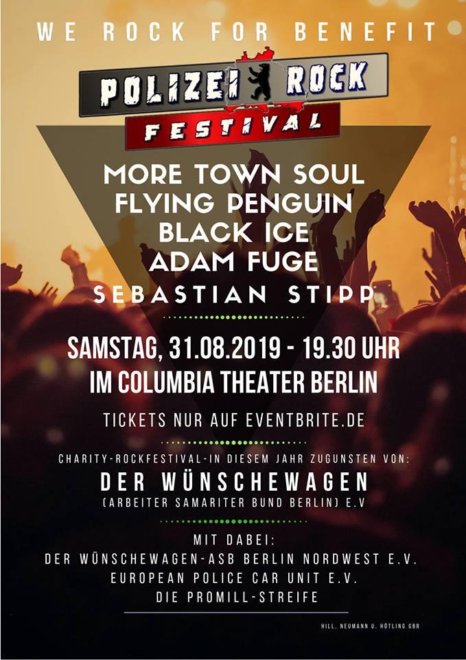 Polizei Rockfestival 2019 Plakat