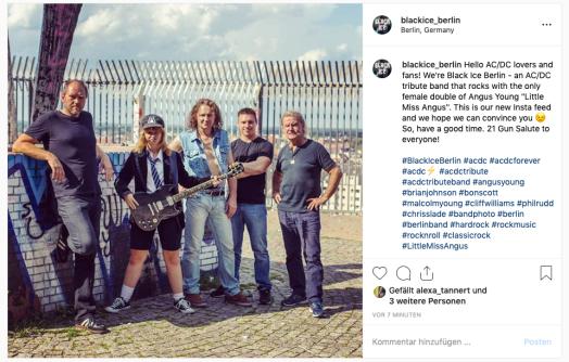 Black Ice Berlin auf Instagram