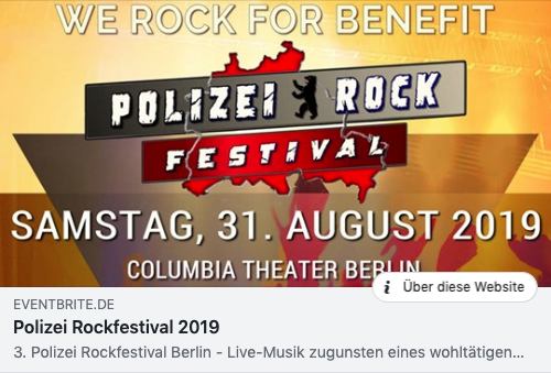Polizei Rockfestival 2019_Eventbrite